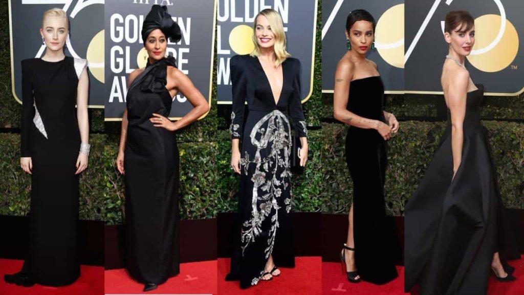 Moda, il red carpet dei Golden Globes 2018: i look delle attrici meglio vestite!
