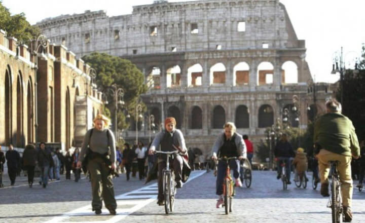 Roma: Blocco traffico nella fascia verde oggi domenia 21 gennaio 2018, tutte le informazioni
