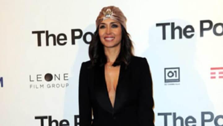 """Look sexy per Caterina Balivo alla prima italiana del film """"The Post"""""""
