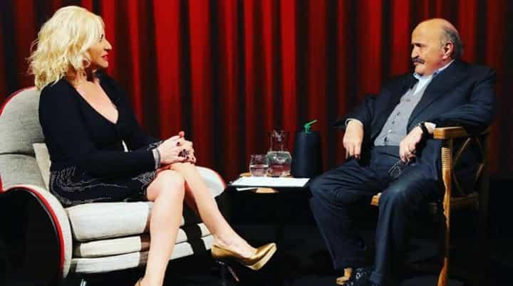 L'intervista: ospite da Costanzo Antonella Clerici