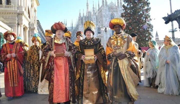 Epifania 2018 a Milano: Corteo dei Re Magi
