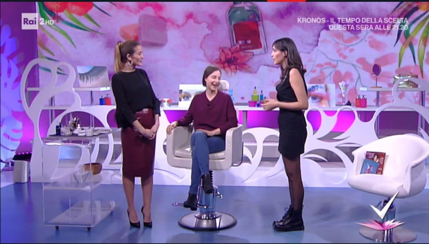 Detto Fatto, il look di Caterina Balivo ed i tutorial di oggi, 26 gennaio 2018