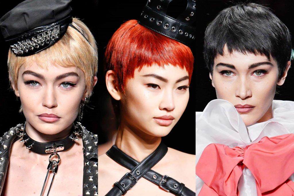Tendenza capelli: i tagli corti del 2018, come suggeriscono le sfilate primaverili.