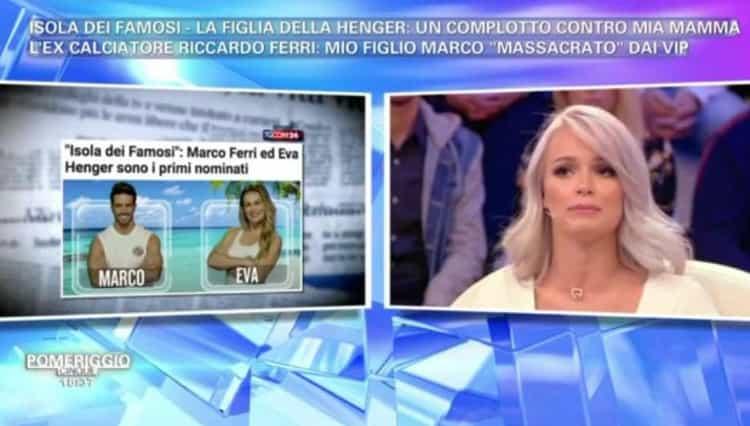 Isola dei Famosi 2018: Mercedesz Henger contro Francesco Monte e Filippo Nardi!