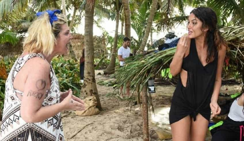 Isola dei famosi 2018: la lite tra Rosa Perrotta e Nadia Rinaldi