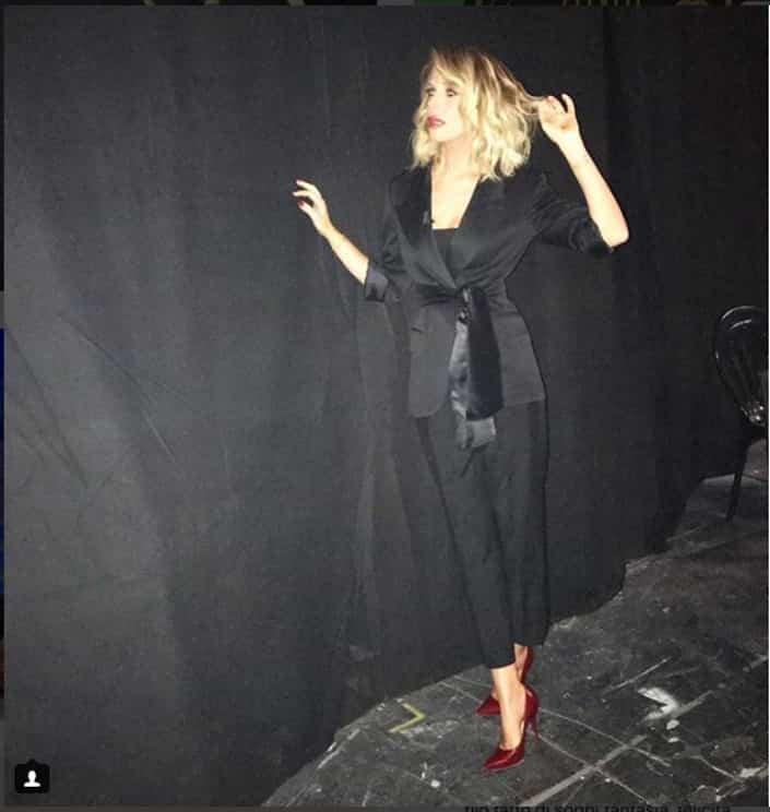 Alessia Marcuzzi, il look di stasera, 22 gennaio 2018, all'Isola dei Famosi 2018!