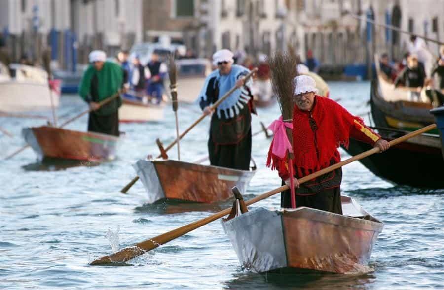 Epifania 2018 a Venezia: la regata delle Befane ed altre attrazioni