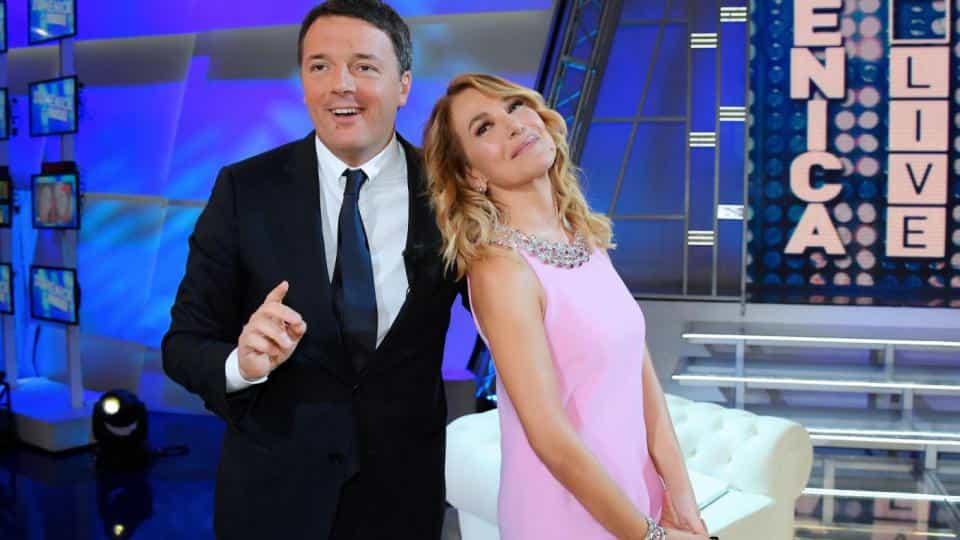 Domenica Live: Matteo Renzi parla dei candidati del Pd, flat tax e reddito di cittadinanza
