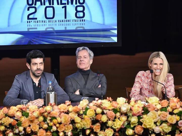 Sanremo 2018: Ultima indiscrezione al fianco di Baglioni, Hunziker e Favino, spunta il nome di una quarta conduttrice