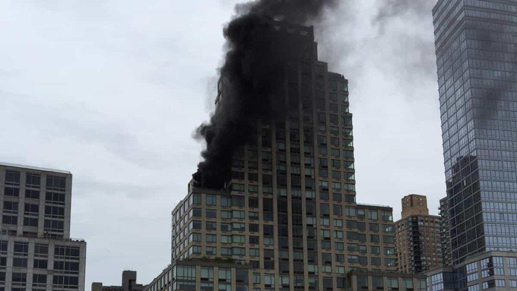 New York: incendio alla Trump Tower a Manhattan, residenza della famiglia Trump