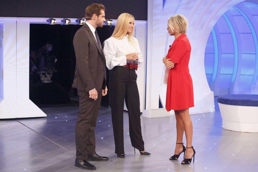C'è posta per te 2018: ospiti della prima puntata della 21esima edizione Michelle Hunziker e il marito Tomaso Trussardi!