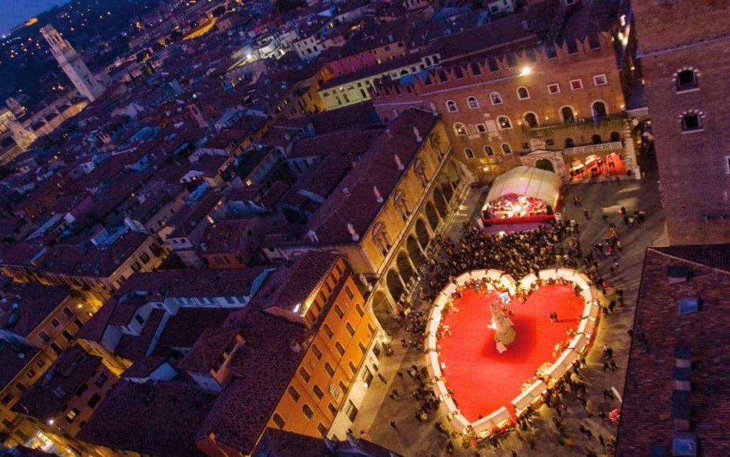 San Valentino a Verona in Love 2018: gli eventi in programma quest'anno nella città degli innamorati!