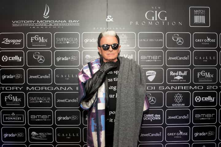 Cristiano Malgioglio: Sanremo 2018, all'Opening Party sfilata di vip