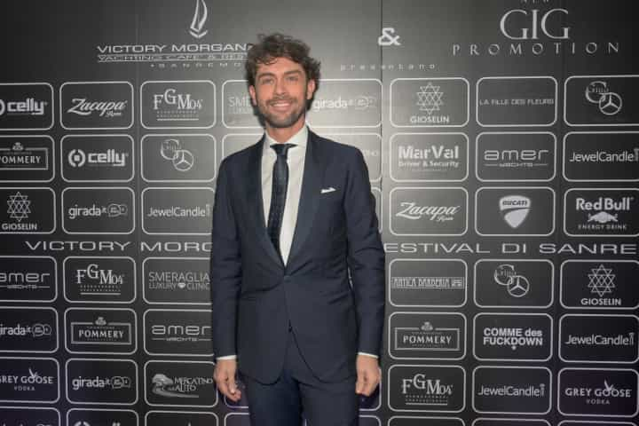 Raffaello Tonon: Sanremo 2018, all'Opening Party sfilata di vip