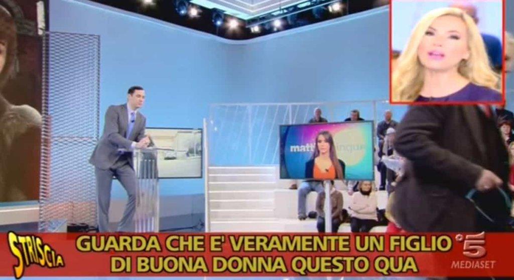 Striscia la notizia: il fuorionda di Federica Panicucci che infierisce contro Francesco Vecchi