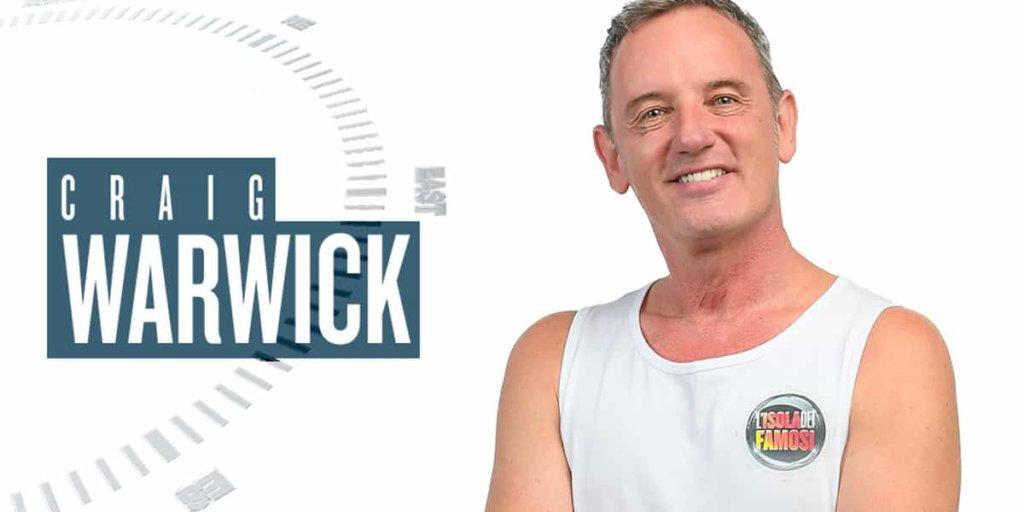 Isola dei Famosi 2018: Craig Warwick ha abbandonato il reality. Chi arriverà al suo posto?