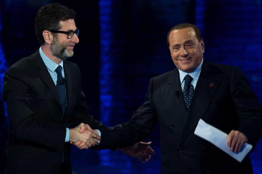 Che tempo che fa: l'intervista di Fabio Fazio a Silvio Berlusconi