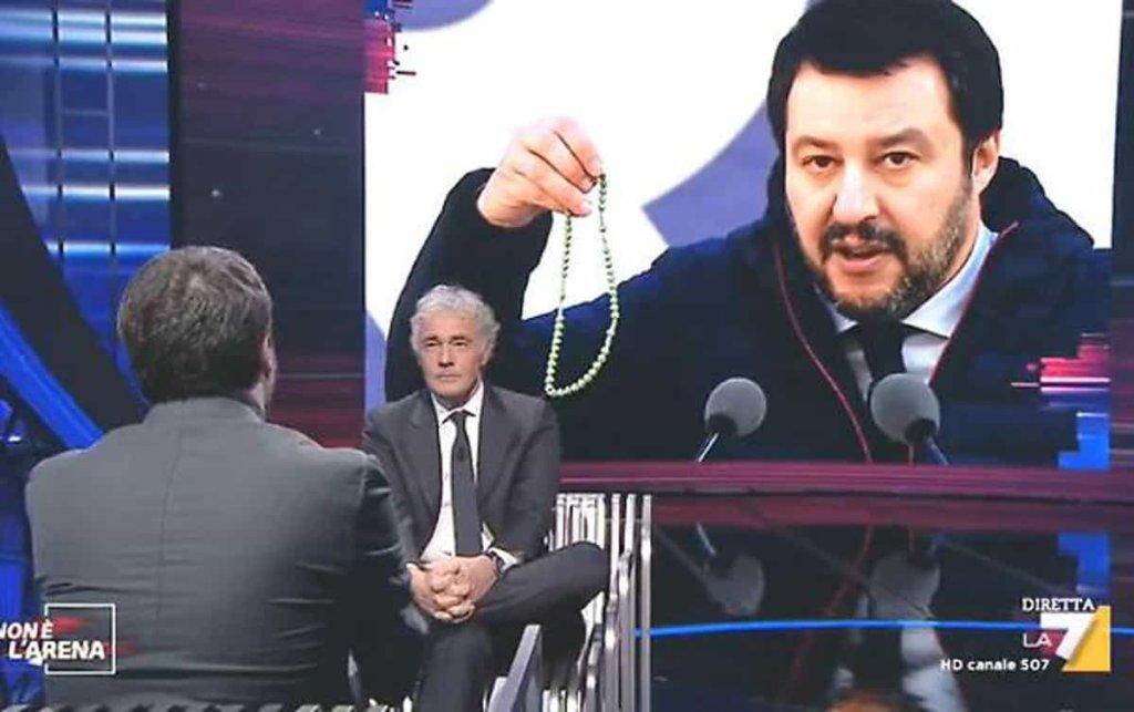 Non è l'arena: l'intervista a Matteo Salvini nella puntata di ieri 25 febbraio 2018