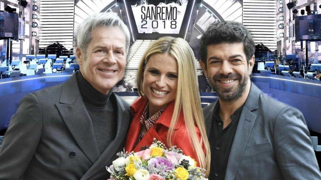 Festival di Sanremo 2018: Michelle Hunziker dichiara ancora amore al marito Tomaso e ad Aurora!