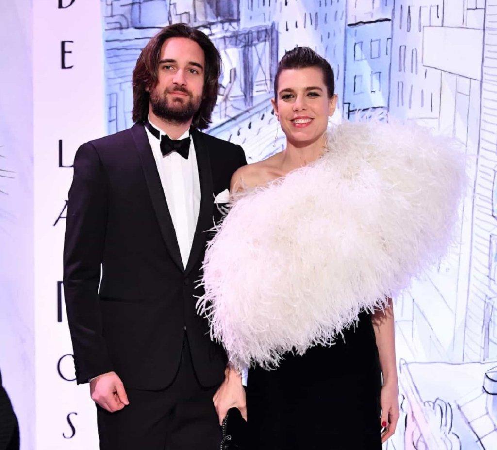 Charlotte Casiraghi e Dimitri Rassam al Ballo della Rosa 2018