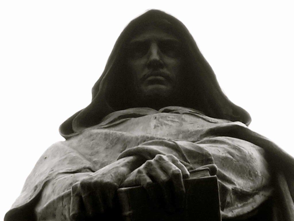 """Dopo la """"lettera eretica"""" di Paolo Izzo ai giornali ancora nessun atto di ammenda della Chiesa nei confronti di Giordano Bruno."""