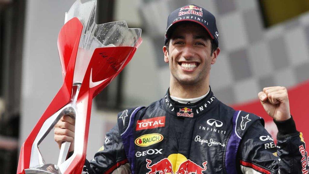 Formula Uno: Gran Premio di Cina, Daniel Riccardo vince!