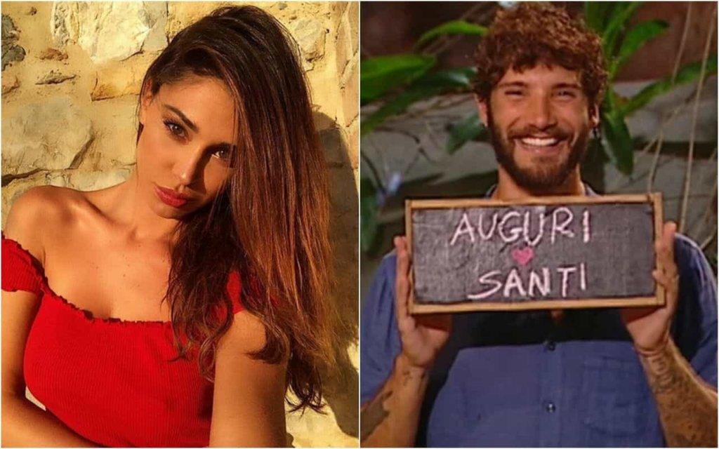 Belen Rodriguez: la festa di compleanno di Santiago e gli auguri in diretta di Stefano De Martino