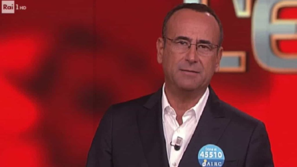 Carlo Conti nella puntata dell'Eredità ricorda Fabrizio Frizzi