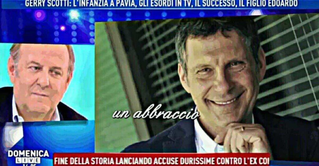 Domenica Live: Gerry Scotti ospite da Barbara D'Urso ha ricordato il collega scomparso Fabrizio Frizzi