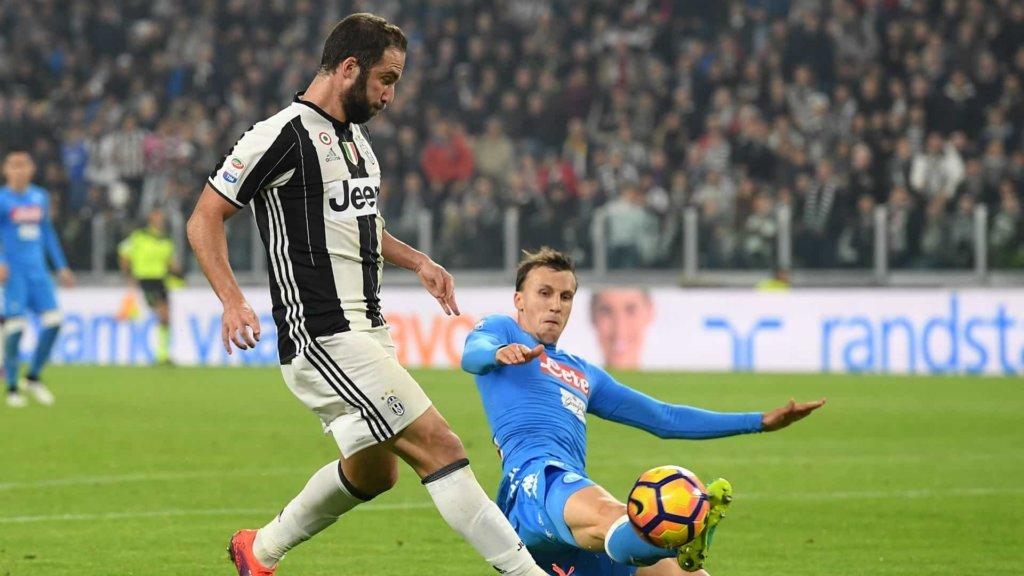 Juventus-Napoli: domenica 22 aprile 2018 il big match a La Domenica sportiva su Rai 2!