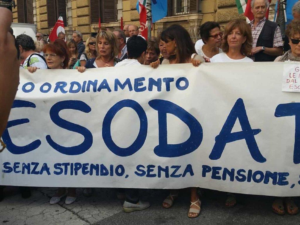 Pensioni, continua la battaglia degli esodati non salvaguardati