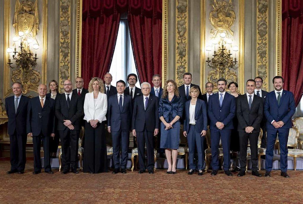 Il governo Conte ha giurato al Quirinale, Salvini e Di Maio ministri e vicepremier