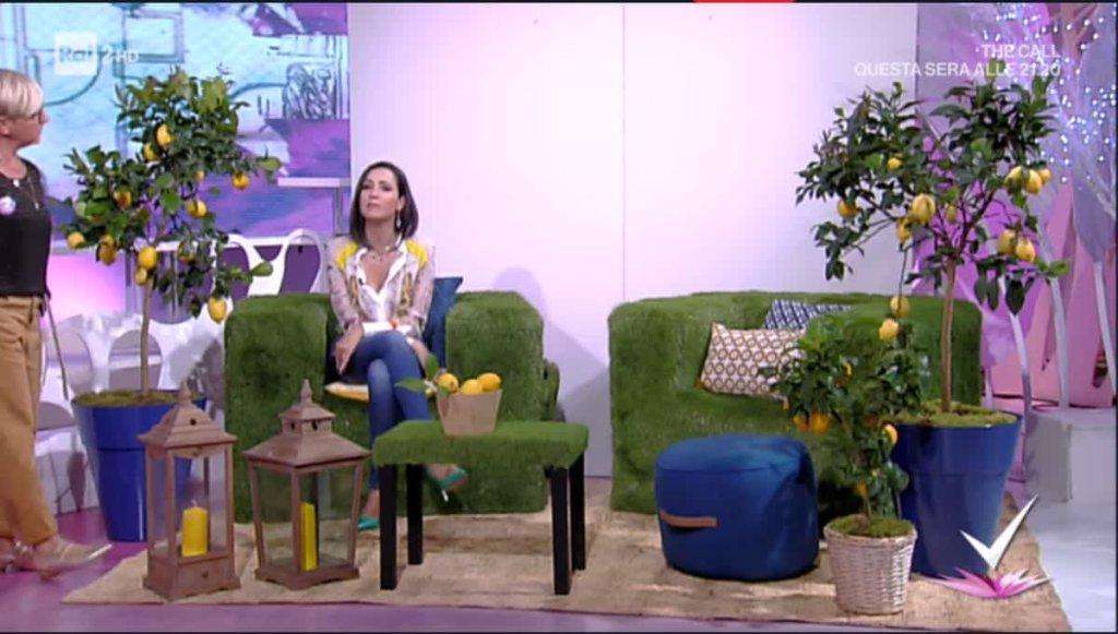 Detto Fatto: il look di Caterina Balivo ed i tutorial di oggi, 6 giugno 2018