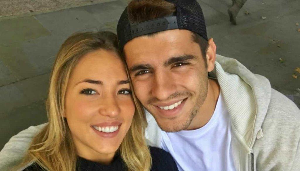 Alvaro Morata e Alice Campello: sono nati i gemelli Alessandro e Leonardo