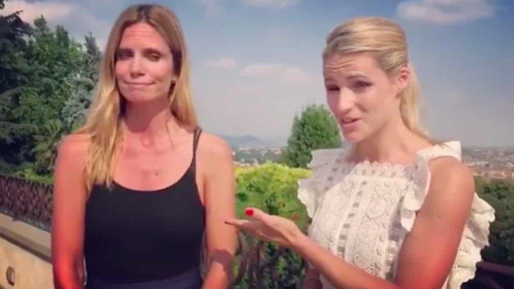 Michelle Hunziker perde scommessa con Filippa Lagerback su Svezia-Svizzera e pagherà pegno