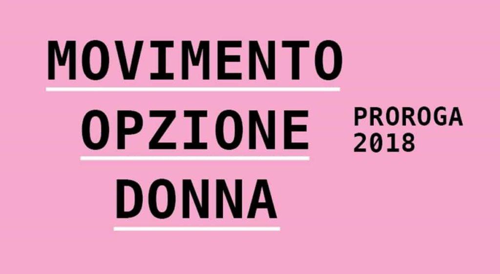 """Movimento Opzione Donna, arriva il """"Memo rosa"""" per la proroga dell'opzione!"""