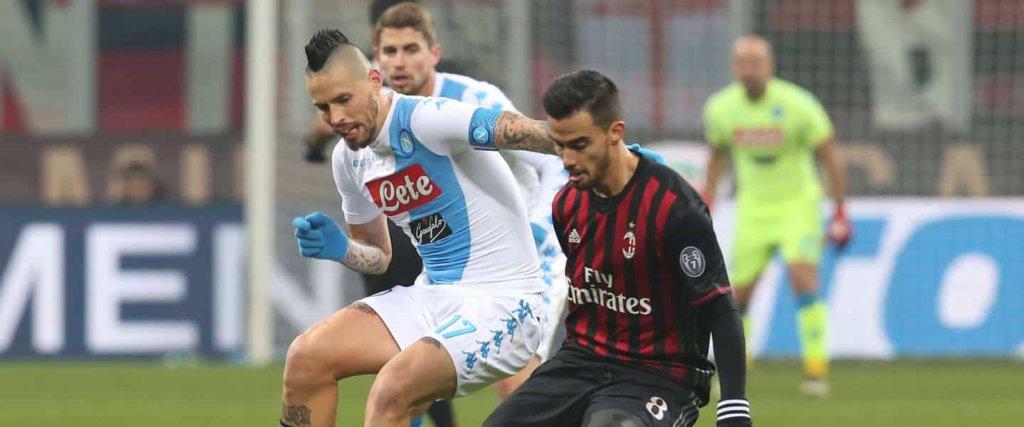 Serie A: le probabili formazioni di Napoli - Milan