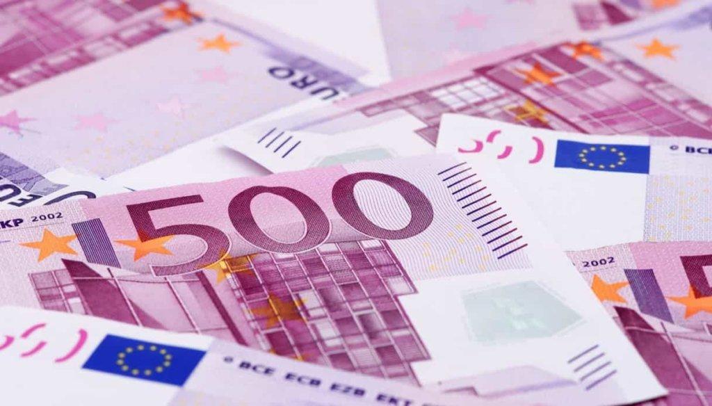 Euro, dal 27 gennaio 2019: addio alle banconote da 500!