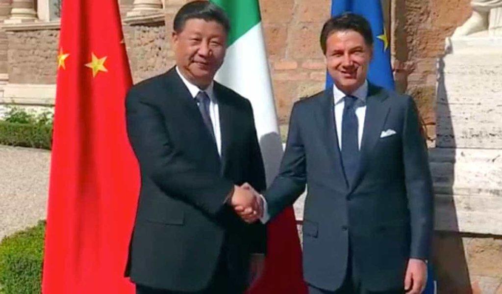 Via della Seta, il presidente Xi Jinping e premier Conte firmano gli accordi commerciali Cina-Italia!
