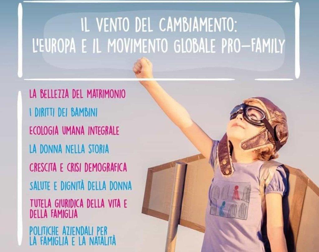 XIII Congresso Mondiale delle Famiglie: dal 29 al 31 marzo 2019 a Verona