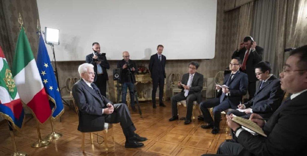 Le dichiarazioni del Presidente Mattarella sui rapporti Italia-Cina