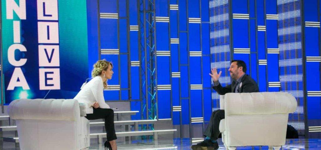 Live - Non è la D'Urso: stasera 22 settembre 2019 ospite Matteo Salvini per un duro faccia a faccia